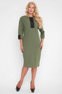 Сукня «Аманда» оливкового кольору