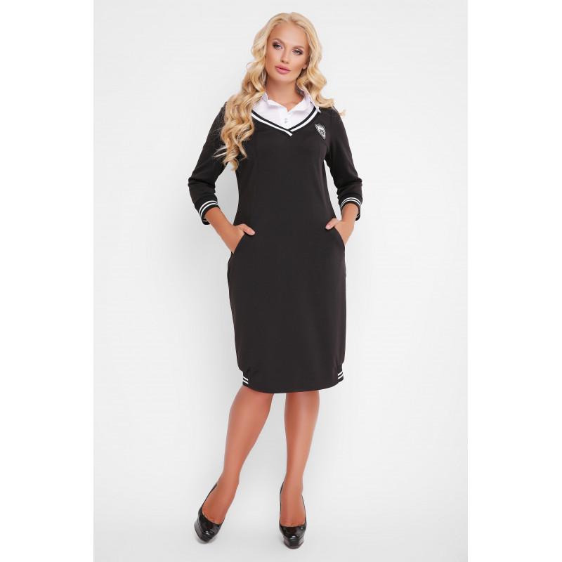 Сукня «Ека» чорного кольору – купити в Києві 9567b137a4161