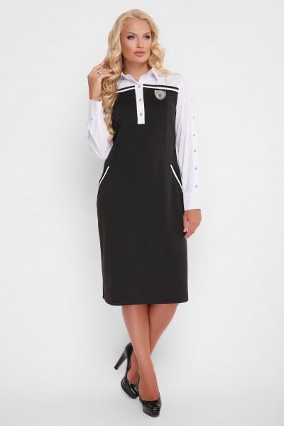 Сукня «Хатія» чорного кольору