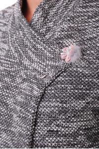 Кардиган «Грета» сірого кольору