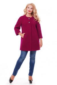 Пальто «Деррі» вишневого кольору