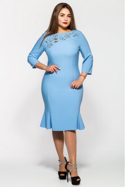 Сукня «Анюта» блакитного кольору