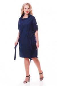 Платье «Берта» синего цвета
