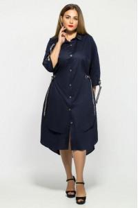 Сукня «Євгенія» темно-синього кольору