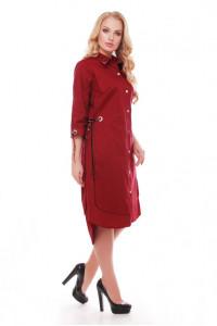 Сукня «Євгенія» бордового кольору