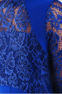 Сукня «Аделіна» кольору електрик
