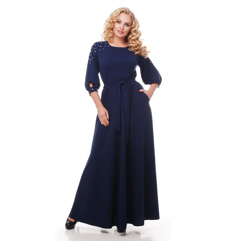 Сукня «Вів єн» темно-синього кольору – купити в Києві 169ba22d67870