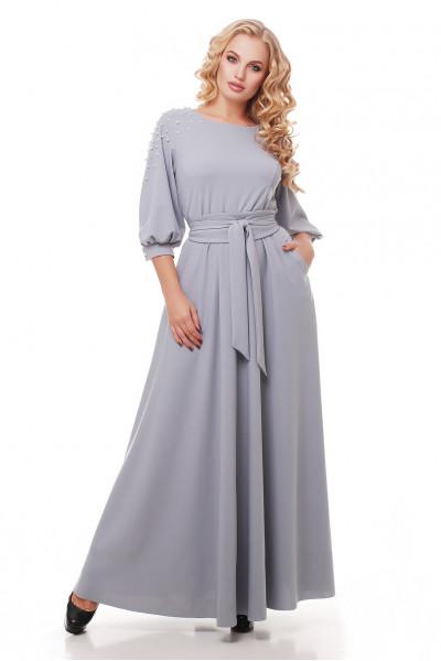 Сукня «Вів'єн» перлинного кольору