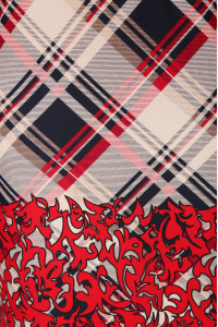 Сукня «Алла» в червону клітинку