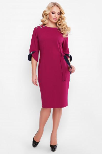 Сукня «Джулія» кольору марсала – купити в Києві 26c6a4374c46b