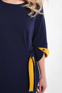 Платье «Джулия» темно-синего цвета