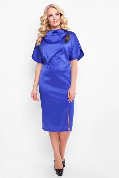 Сукня «Елеонора» сапфірового кольору