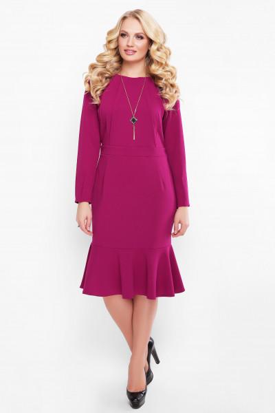 Сукня «Ромі» кольору марсала