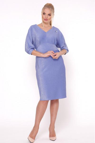 Сукня «Афіна» кольору блакитної фіалки