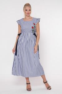 Платье «Афродита» в полоску