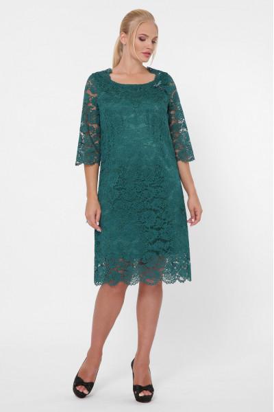 Сукня «Елен-каре» смарагдового кольору