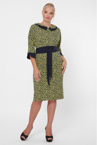 Сукня «Наталі» гірчичного кольору
