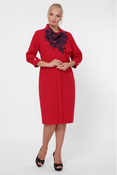 Сукня «Еліза» бордового кольору