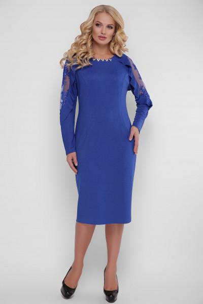 Сукня «Раміна» кольору електрик