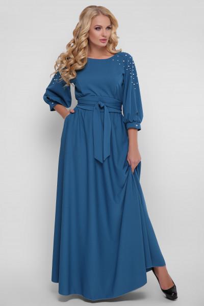 Сукня «Вів'єн» бірюзового кольору