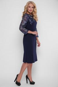 Сукня «Аннет» синього кольору