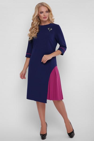 Сукня «Ванда» синього кольору