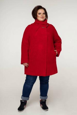 Пальто «Нінель» червоного кольору