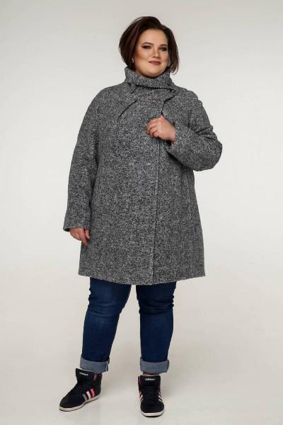 Пальто «Нінель» сірого кольору