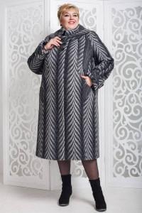 Зимове пальто «Вуді» темно-сірого кольору