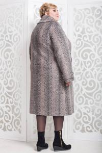 Зимове пальто «Вуді» бежевого кольору
